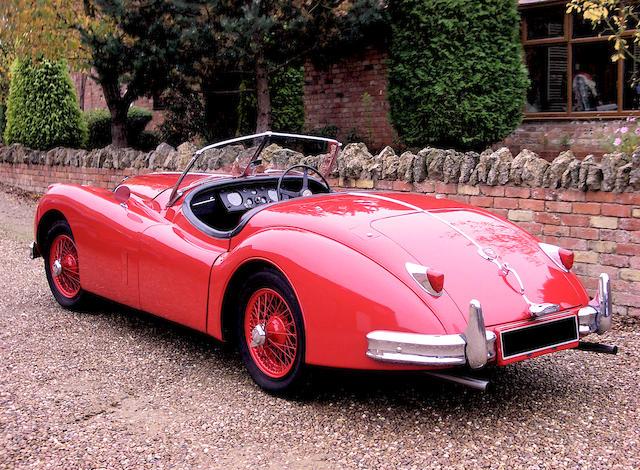 1955 Jaguar XK140 Roadster  Chassis no. A811934DN