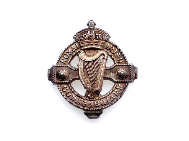 A Royal Irish Constabulary Senior Officer's Pouch Belt Plate