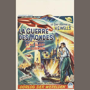 The War Of The Worlds (La Guerre Des Mondes), Paramount Pictures, 1953,