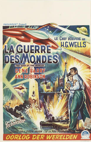 The War Of The Worlds (La Guerre Des Mondes), Paramount Pictures, 1953,