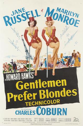 Gentlemen Prefer Blondes, 20th Century-Fox, 1953,