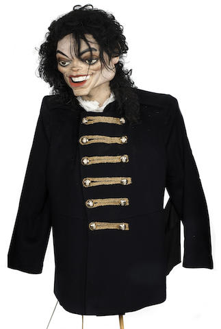 Spitting Image: a Michael Jackson puppet,