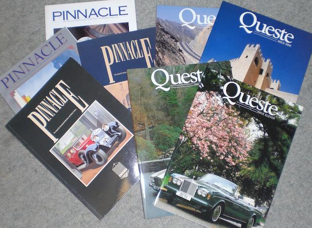 Queste Magazine; assorted issues,