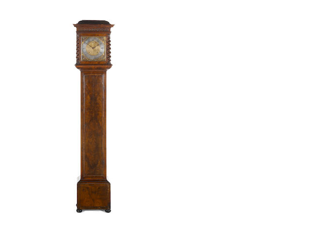 Joseph Knibb - walnut longcase with month duration