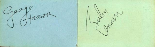 Autographs of the Beatles, 1960s,