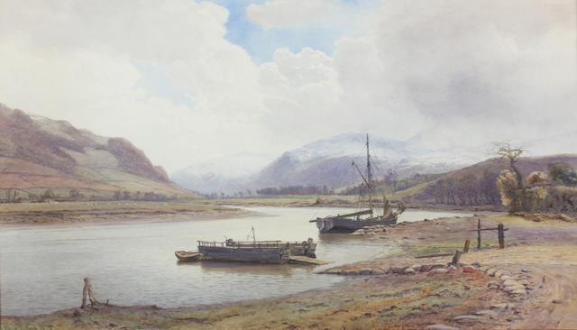 Henry Albert Hartland (1840-1893) 45 x 73cm