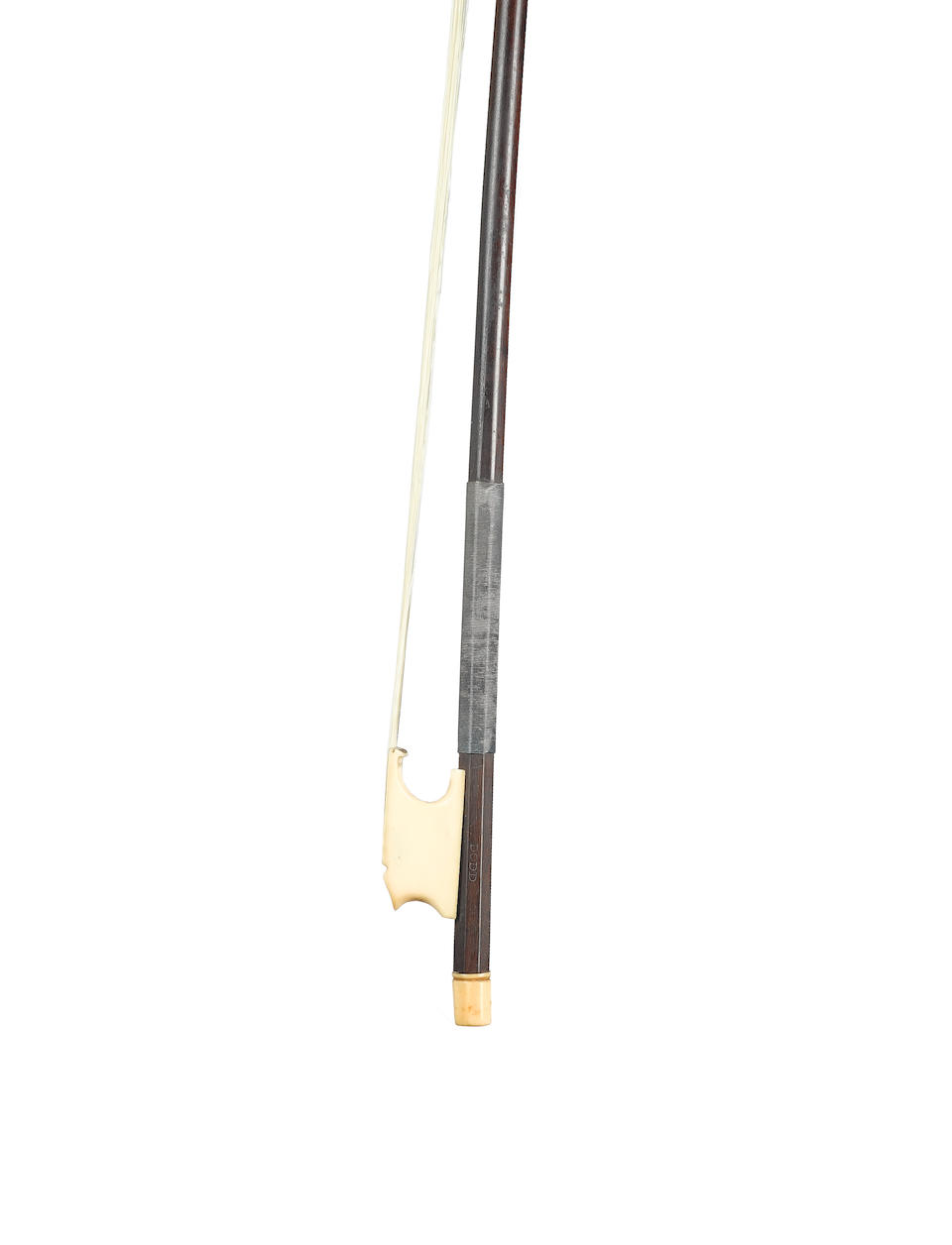 An Ivory mounted Cello Bow by John Dodd, London, circa 1780 (2)