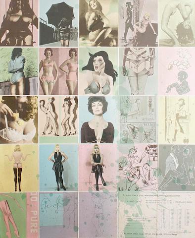 Allen Jones (British, born 1937) 'One Way Traffic', 1974