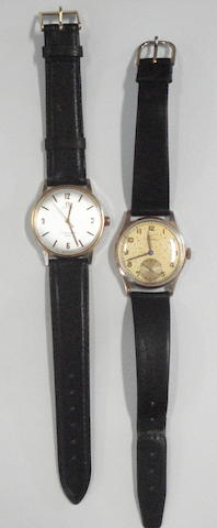 A lot of two Omega wristwatches