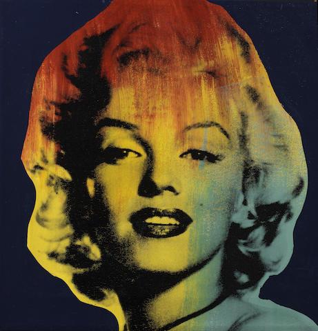 Marilyn Monroe portrait, 1996,