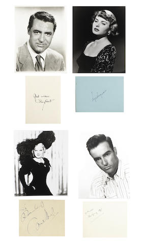 A good collection of autographs, varying dates,