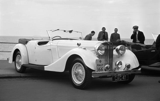 Ex-1938 RAC Rally and Autocar Road Test Car,1938 Jensen 'S-Type' 3½-Litre Dual Cowl Tourer  Chassis no. S34/7354