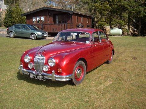 1960 Jaguar Mk2 3.4-Litre Saloon  Chassis no. 151295DN Engine no. KG 2874-8