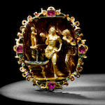 A rare 16th century gold jewel