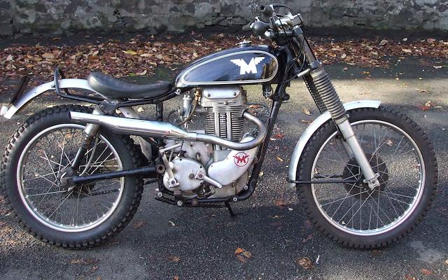 1957 Matchless G3C Trials,
