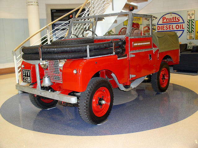 1954 Land Rover Series I Fire Tender  Chassis no. 47102371