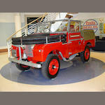 1954 Land Rover Series I Fire Tender,