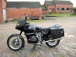 1977 BMW 980cc R100RS Frame no. 6062160 Engine no. 6062160