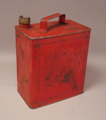 A 2-Gallon petrol-can by Wimpey,