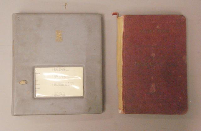 A Rolls-Royce 20/25hp Instruction book,