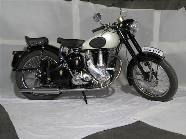 c.1954 BSA 348cc B31 Frame no. BB31S-9234 Engine no. BB31-9234