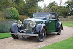 1936 Bentley Derby,