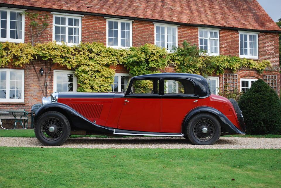 1935 Bentley,