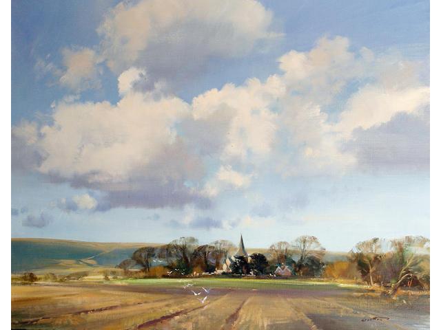 Frank Wootton (British, 1914-1998) Berwick Church, Sussex