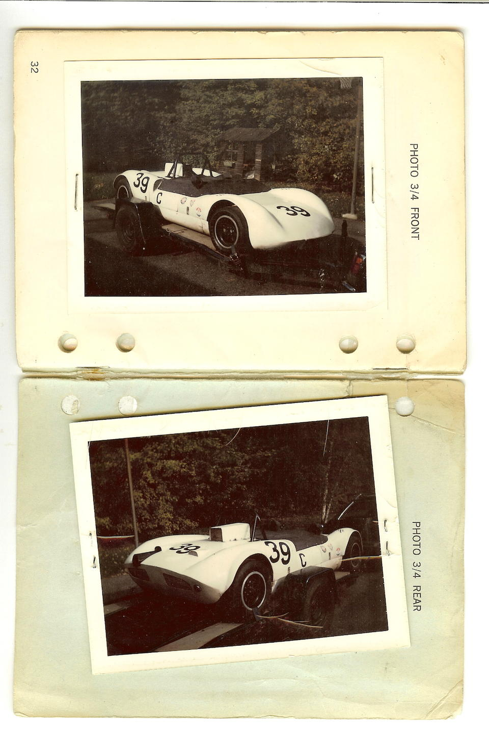 1963 Elva Mk7-Ford Sports-Racer  Chassis no. 70-003