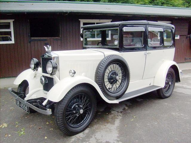 1930 Morris Major Saloon  Chassis no. MJ1461 Engine no. 20436