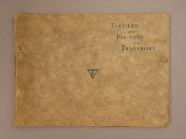 An Ernest Turner motoring supplies catalogue,