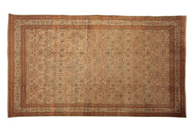 A fine Sivas carpet Western Anatolia 492cm x 416cm