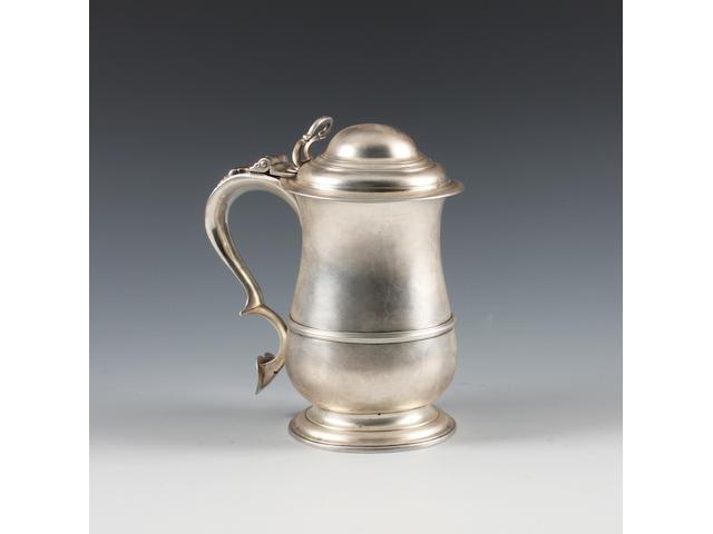 A George III silver tankard By Francis Crump, London, 1764,