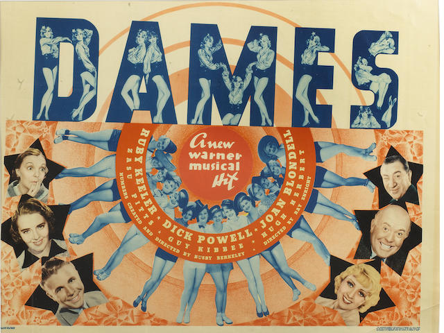 Dames,  Warner Bros., 1934,