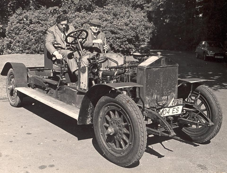 Formerly the property of the late Thomas Love,1913 Rolls-Royce 40/50hp Silver Ghost Open-Drive Limousine  Chassis no. 1NA Engine no. 19B