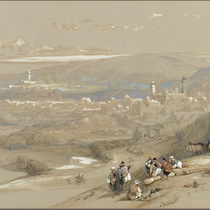David Roberts, RA (British, 1796-1864) Hebron