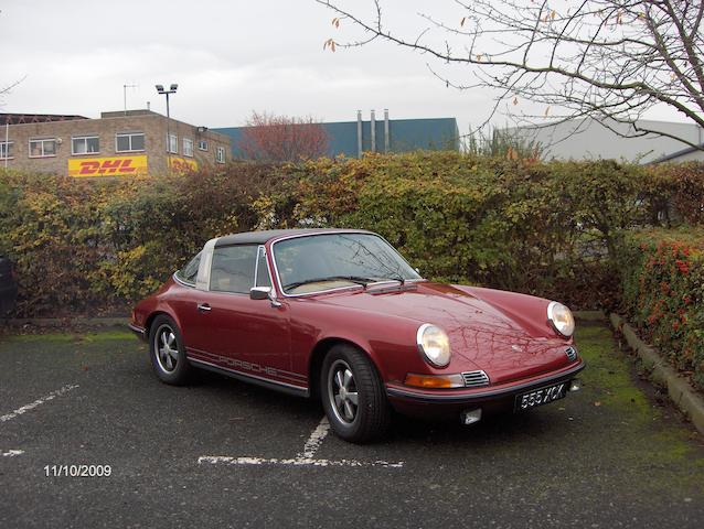 1973 Porsche 911T 2.4-Litre Targa Convertible  Chassis no. to be advised Engine no. to be advised