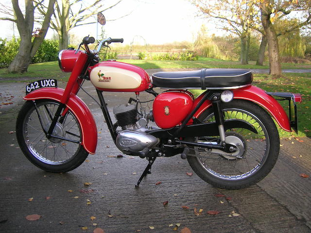 1961 BSA 172cc D7 Bantam Super Frame no. D7 23364 Engine no. ED7B 17137