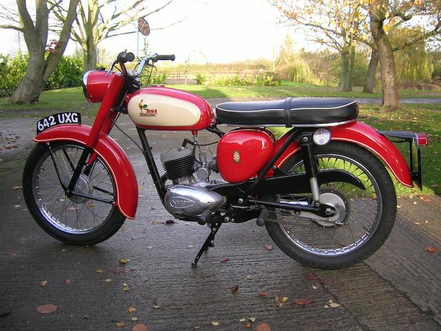1961 BSA 172cc D7 Bantam Super Frame no. D7 23364 Engine no. ED7B 17137