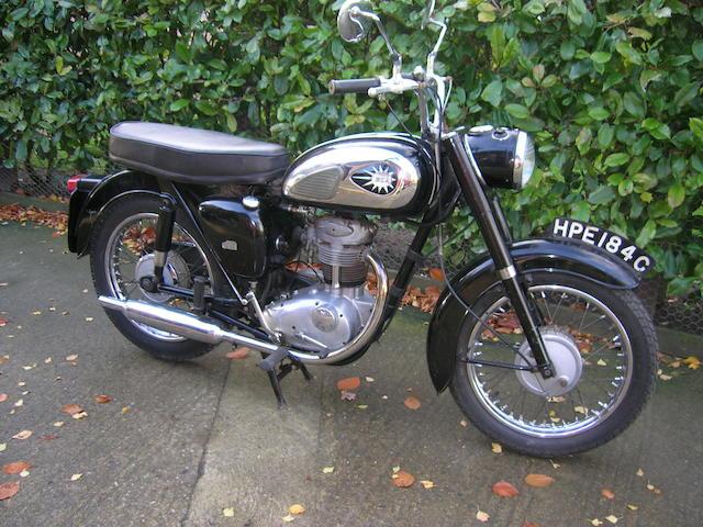 1965 BSA 247cc C15 Frame no. C15 46272 Engine no. C15F 791