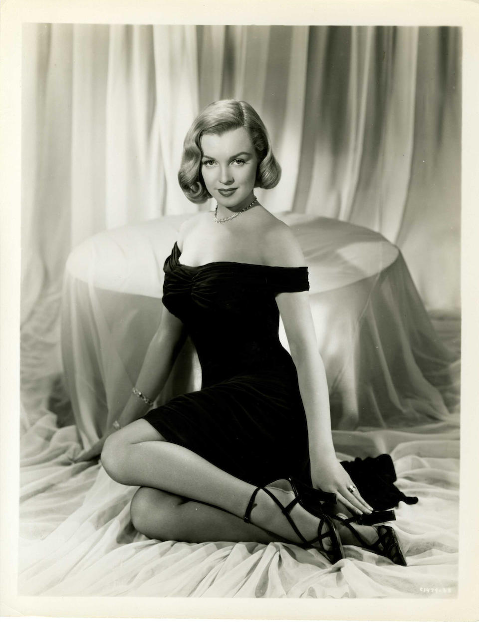 A collection of approximately one hundred Marilyn Monroe related stills, black and white stills, approx 100