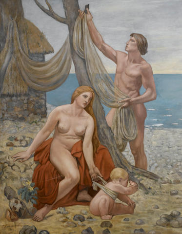 Manner of Pierre Puvis de Chavannes