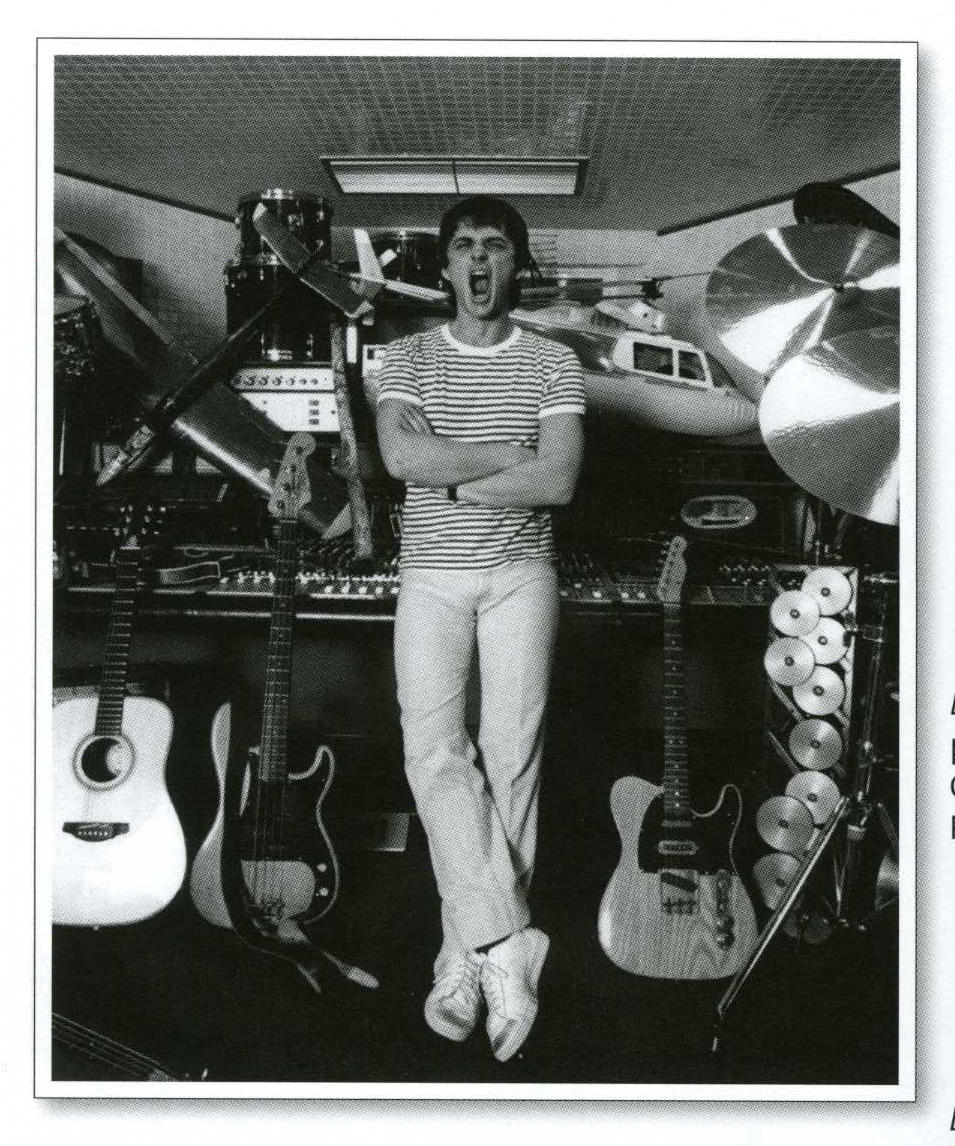 Mike Oldfield's Fender Telecaster, used to record the album 'Tubular Bells', F-plate with serial no. 180728,