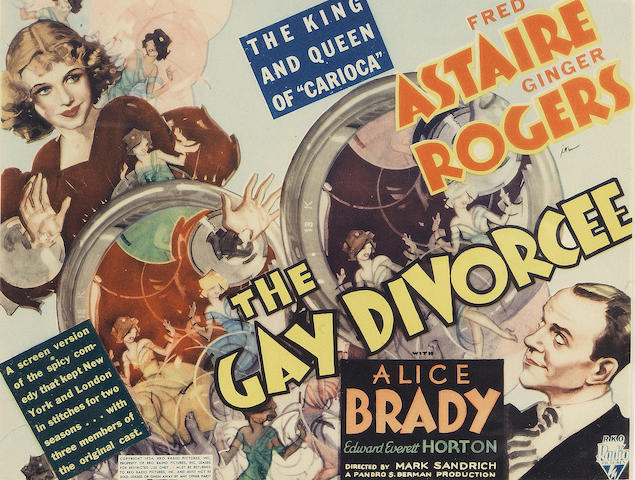 The Gay Divorcee,  RKO Radio Pictures, 1934,