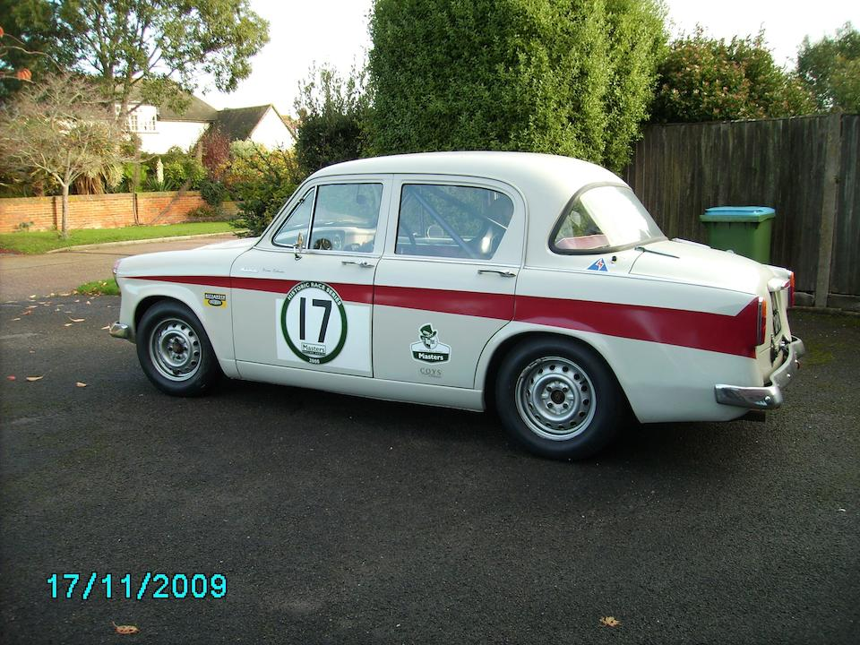1957 Hillman Minx Competition Saloon  Chassis no. 1629865HHSO