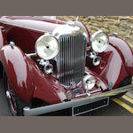 From long ownership in a private museum collection,1936 Lagonda LG45 S1 Drophead Coupé  Chassis no. 12050 Engine no. LG45/209S1