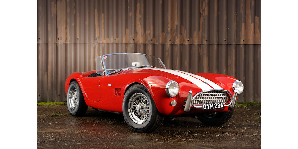 1963 AC Shelby Cobra 4.7-litre Mark II Roadster  Chassis no. CSK2116 Engine no. CSX2116