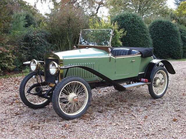1918 Hispano-Suiza 8-10hp Type 24 Two-seater  Engine no. 3958