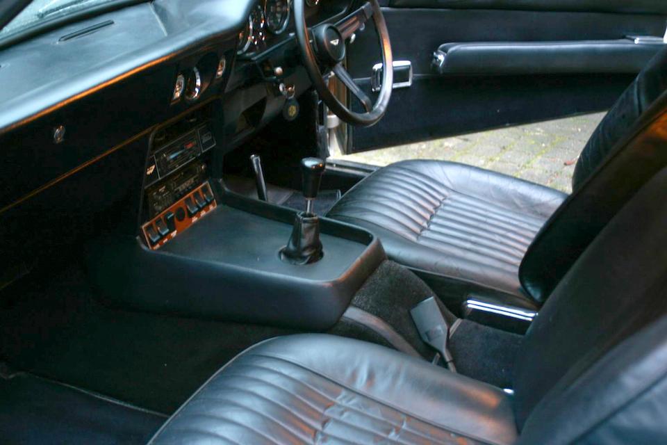 1972 Aston Martin V8 Saloon  Chassis no. V8/10521/RCA Engine no. V/540/389