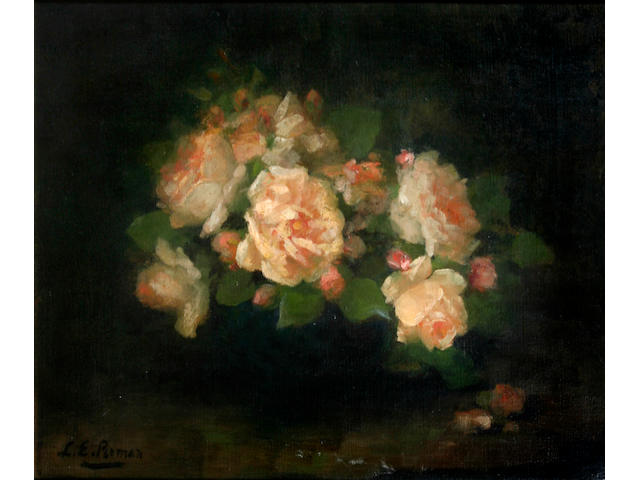 Louise Ellen Perman (Scottish, 1854-1921) Still life of roses,